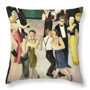 Charity Ball Throw Pillow by Thomas Tribby