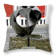 Charity Wishing Shell - Shanklin Throw Pillow