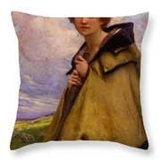 Charles Amablelenoir Labergere Large Throw Pillow