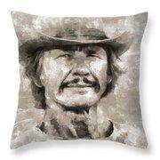 Charles Bronson, Actor Throw Pillow