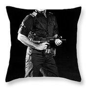 Charles Bronson In Raid On Entebbe 1977  Throw Pillow