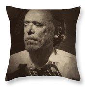 Charles Bukowski 1 Throw Pillow