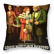 Charles Dickens' Great Expectations 1917 Throw Pillow