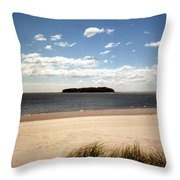 Charles Island Throw Pillow