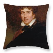 Charles Kemble Throw Pillow