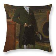 Charles Maurice De Talleyrand Prigord 17541838 Prince De Talleyrand Throw Pillow