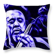 Charles Mingus Collection Throw Pillow