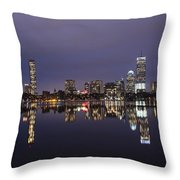 Charles River Clear Water Reflection Throw Pillow