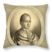 Charles X Also Called  Until 1824 Throw Pillow