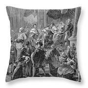 Charles X Throw Pillow