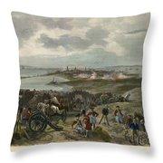 Charleston 1780 Throw Pillow by Granger
