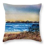 Charleston At Sunset Throw Pillow