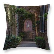 Charleston Brick Alley Throw Pillow