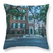 Charleston By Moonlight Throw Pillow