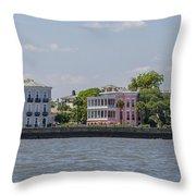 Charleston By The Sea Throw Pillow