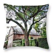 Charleston Church Street Live Oak And Ivy Throw Pillow