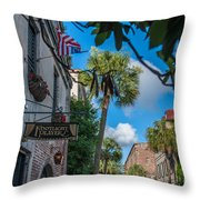 Charleston Footlight Players Throw Pillow