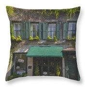 Charleston Gardens Throw Pillow