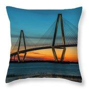 Charleston Golden Hour Throw Pillow