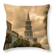 Charleston Light Throw Pillow