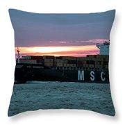 Charleston Port Throw Pillow