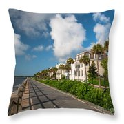 Charleston Sc Battery Throw Pillow
