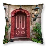 Charleston Sc Grand Entrance Throw Pillow