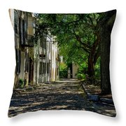 Charleston Side Street Throw Pillow