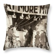 Charleston: State Fair Throw Pillow