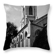 Charleston Unitarian Church Throw Pillow