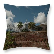 Charleston Walled Garden Throw Pillow