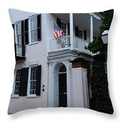Charlestons Cobble Stone Throw Pillow by Donna Bentley