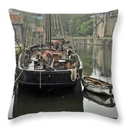 Charlestown Harbour Throw Pillow