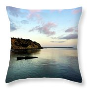 Charlestown Sunset East Throw Pillow