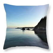 Charlestown Sunset West Throw Pillow