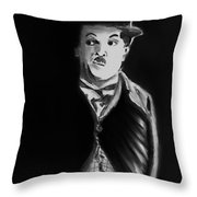 Charlie Throw Pillow by Arline Wagner