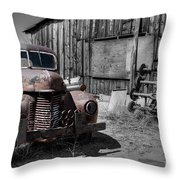 Charlies Place Throw Pillow
