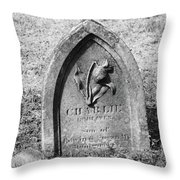 Charlie's Rose Throw Pillow