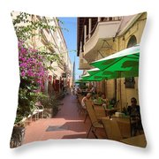 Charlotte Amalie Throw Pillow