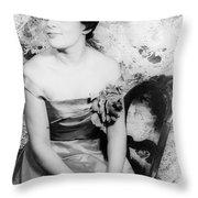 Charlotte Holloman (1922-) Throw Pillow by Granger