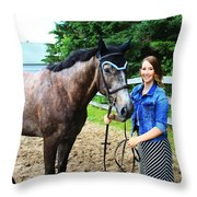 Charlotte-phil-15 Throw Pillow