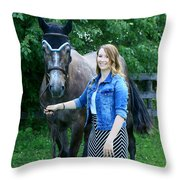 Charlotte-phil-18 Throw Pillow