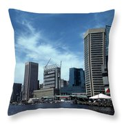 Charm City Throw Pillow