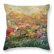 Charming Chasms Series Fall Frolic Throw Pillow