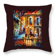 Charming Night Throw Pillow