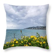Charmouth Overlook Throw Pillow