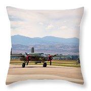 Chase Plane Throw Pillow