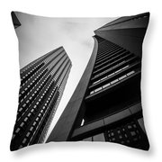 Chase Tower Throw Pillow