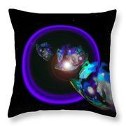 Chase Violet Throw Pillow