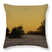 Chasewater Evening Throw Pillow